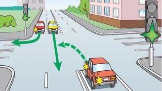Download Нарушение правил проезда перекрестка. Сборник спорных ситуаций Video