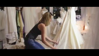 Download How a wedding dress is made by Caroline Arthur Video