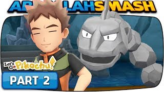 Download Pokemon Let's Go Pikachu & Eevee - Part 2: BROCK! (100% Walkthrough) Video
