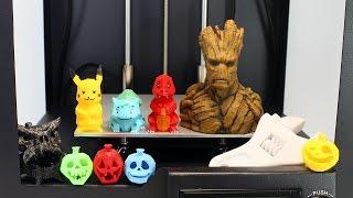 Download Impresora 3D | Cómo Funciona una Impresora 3D | Objetos Impresos en 3D Video