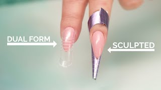 Download Dual Forms vs Sculpted Acrylic Nails Video