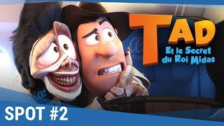 Download TAD Et Le Secret Du Roi Midas - Spot ″Héros″ 20s VF [actuellement au cinéma] Video