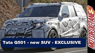 Download Tata Q501 - New SUV - EXCLUSIVE Video