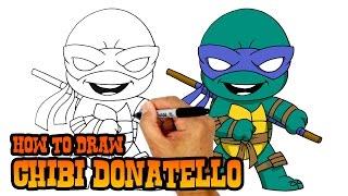 Download How to Draw Donatello | Teenage Mutant Ninja Turtles Video