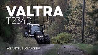 Download Moottori VALTRA T234D traktorin koeajo Video