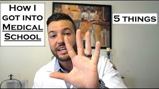 Download How to get into Medical School: 5 THINGS | FSU Video