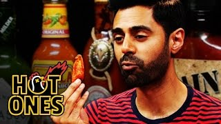 Download Hasan Minhaj Has an Out-of-Body Experience Eating Spicy Wings | Hot Ones Video