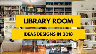 Download 45+ Awesome Library Room Ideas Designs in 2018 Video