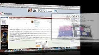 Download Mac OS X Lion Release Speculation Video