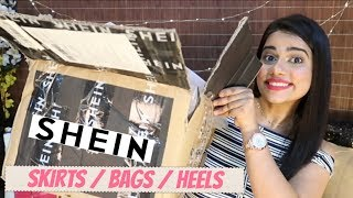 Download SHEIN SKIRTS / BAGS / HEELS (College Special) / STYLE TIPS | Sana K Video