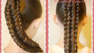 Download Twisted Edge Fishtail Braid, Hair Tutorial Video