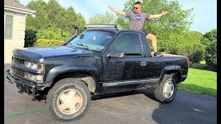 Download THE WORLD'S FIRST CONVERTIBLE OBS BLAZER!!! (The Way Chevy Should Have Made Them!) Video