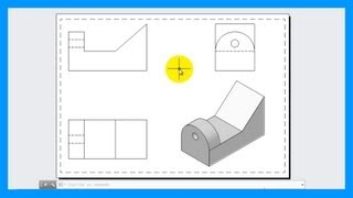 Download Autocad - Crear vistas a partir de una pieza o modelo 3D. Vistas 2D desde 3D. Tutorial en español HD Video