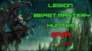 Download WOW Legion ARENA 2v2 bm hunter straight ez wins! Video