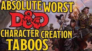 Download The Worst Character Creation Taboos for Dungeons and Dragons 5th Edition Video