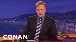 Download Conan Shares News Of The Death Of Robin Williams Video