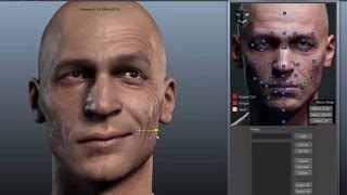 Download 3D Facial Rig Manager for Maya & 3ds Max by Snappers Systems - Character Rigging Demo Reel Video