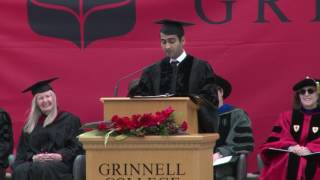 Download Kumail Nanjiani '01, 2017 Grinnell College Commencement Address Video