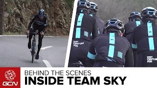 Download Behind The Scenes - A Day At Training Camp With Team Sky Video