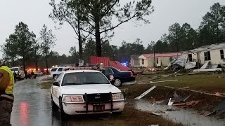 Download 16 Ga. counties under state of emergency after deadly storms Video