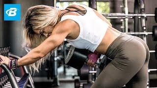 Download Cassandra Martin's Heavy Back Workout Video