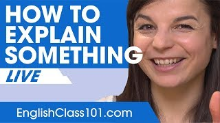 Download How to Explain Something in English - Basic English Phrases Video