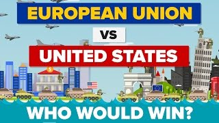 Download European Union vs The United States (EU vs USA) 2017 - Who Would Win - Army / Military Comparison Video