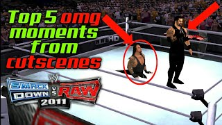 Download Top 5 omg moments from cutscenes of svr 2011 Wwe2k11 Video