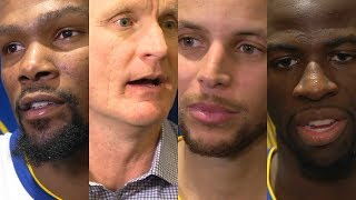 Download Warriors react to loss to Celtics [Kevin Durant, Steve Kerr, Steph Curry, Draymond Green] | ESPN Video
