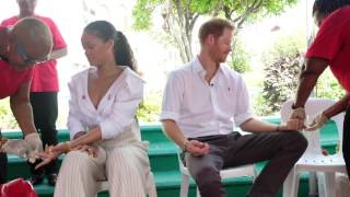 Download Prince Harry and Rihanna take an HIV test on #WorldAIDSDay 2016 Video
