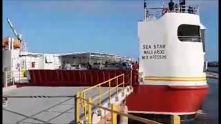 Download Sea Star departs Wallaroo Video