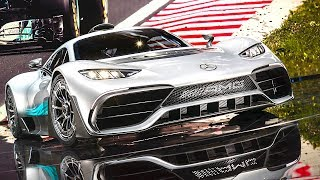 Download Mercedes AMG Project One Engine DRIVING Video Hypercar AMG Project One Drivetrain Concept 2017 Video
