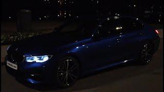 Download NIGHT G20 Portimao Blue BMW 330i M Aerodynamic LIGHTS ON Double spoke M 791 wheels [4k 60 fps] Video