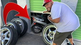 Download MOTORCYCLE HIDING BEHIND RECYCLABLES! | made big buck$$ on a storage unit Video