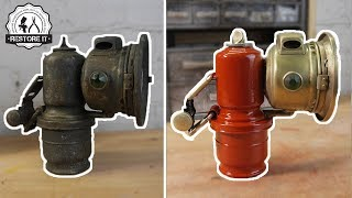 Download 100+ Year Old Rusty Joseph Lucas Bicycle Carbide Lamp Restoration Video