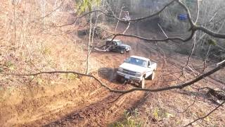 Download Ford vs Chevy st helens mud run January 1st 2014 Video