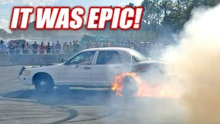 Download Project Neighbor Goes INSANE... Then Catches on Fire! (Cleetus and Cars FL Burnout Contest) Video