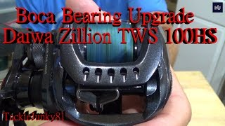 Download Boca Bearing Upgrade: Daiwa Zillion TWS 100HS Video