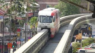 Download The Monorail System in Kuala Lumpur, Malaysia Video
