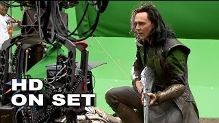 Download Thor 2: The Dark World: Behind the Scenes with Tom Hiddleston ″Loki″ (All His Broll) Video