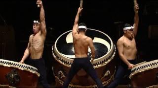 Download Kodo - ″O-Daiko″ - HD (japanese drummers - Taiko - tambours géants Japon) Video