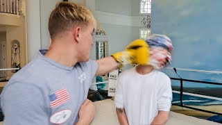 Download I Let Jake Paul Punch Me In The Face Video