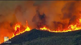 Download Weary California crews fighting unpredictable fires prepare for worst yet to come Video