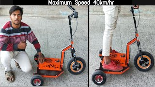 Download how to make 3 wheel electric scooter at home || DIY Creative Science Video