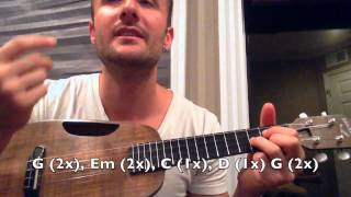 Download FIRST UKULELE LESSON - ″Stand By Me″ - Super Easy Ukelele Songs Video