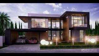 Download Modern Style แบบบ้านสองชั้น ประเภทบ้านเดี่ยว 4ห้องนอน 4ห้องน้ำ แบบบ้านโมเดิร์น by Black-Beam Video