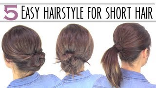 Download Easy hairsyles for short hair Video