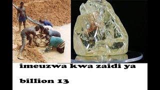 Download ALMASI KUBWA ZAIDI DUNIANI | Mgunduzi na jamii walalamika Video
