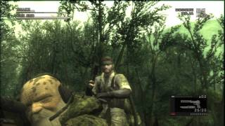 Download Metal Gear Solid 3 HD Collection Secrets: Hold Up The End Video