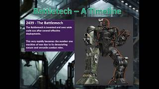 Download Brief History Of Battletech - Part 1 - Before the game Video